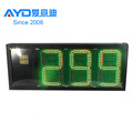 Hotcake Size REGULAR 4digits 7 Segment Electronics Scoreboard Wireless Gas Station LED Price Sign LED Open Sign16inch