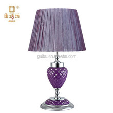 2014 Luxury Best selling table lamp shade for living room decoration