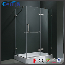 Adjustable stainless steel pivot hinge 10mm fibreglass plastic shower cubicle sizes price