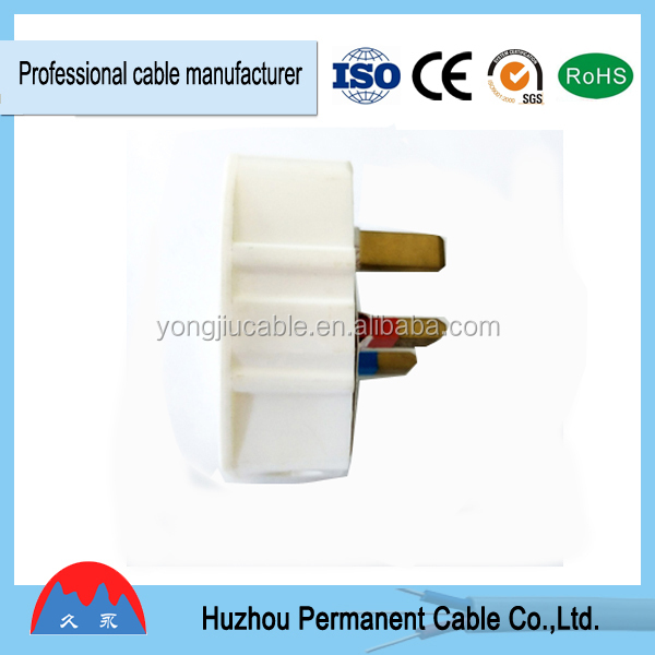 Top Hot Selling 13A Plug Top, 3 Pin 13 AMP Electrical Adaptor Plug