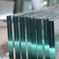 Top Quality 6.38mm Laminated Clear Glass Jumbo Size