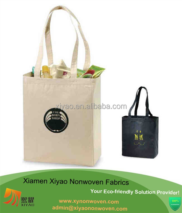 Customized Different Sizes Shopping Bag Cotton Grecory duffle bag