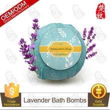 Luxury Bath Fizzies Bath Bomb with Lavender Essential Oil OEM/ODM Professional Supplier