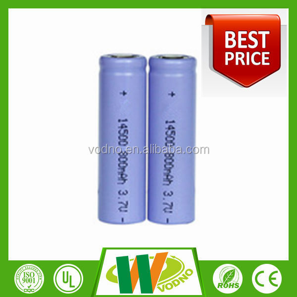 Factory direct 3.7v medical equipment 14500 lithium battery