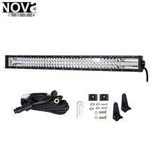 Auto Lighting System led Triple light bar 180W curved light bar