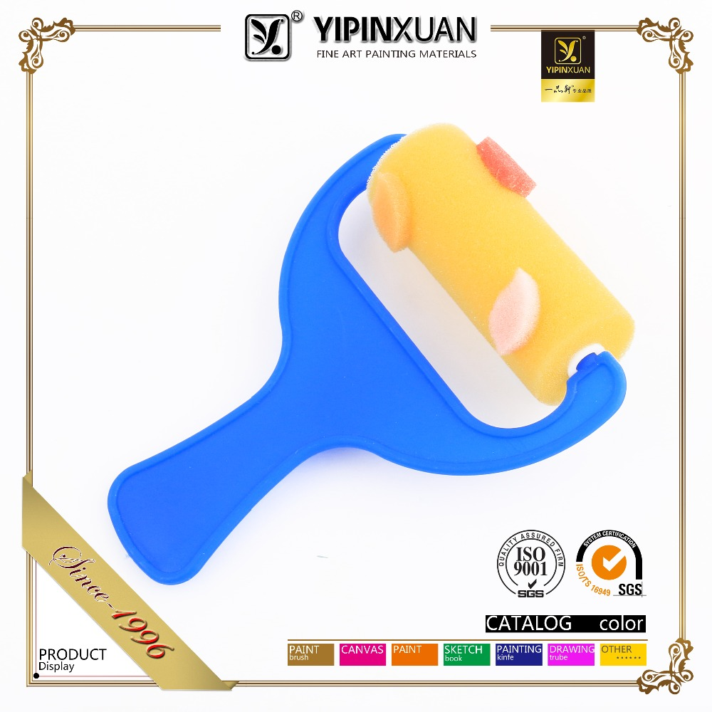 Sponge Design Painting Foam Paint Roller Brush