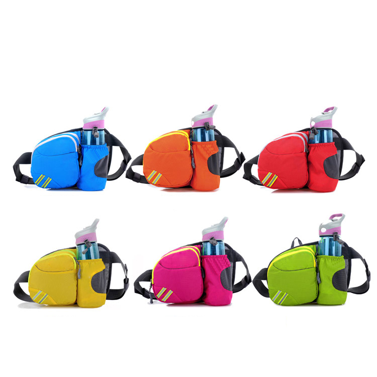 2016 new style outdoor nylon sport custom fanny pack wholesale