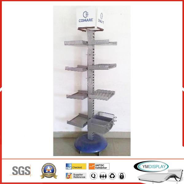 Metal display stand