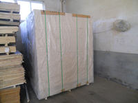 tubular hollow core particle board