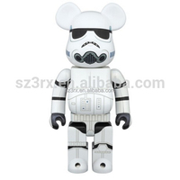 Hot selling strom trooper 10000% bearbrick toy for sales/oem 70cm bearbrick for collection/wholesales 400% bearbrick toy