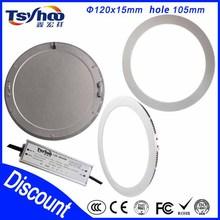 Ultra thin 24w 300mm round shape SMD2835/3014 led panel downlight with CE RoHS approved 3 years warranty