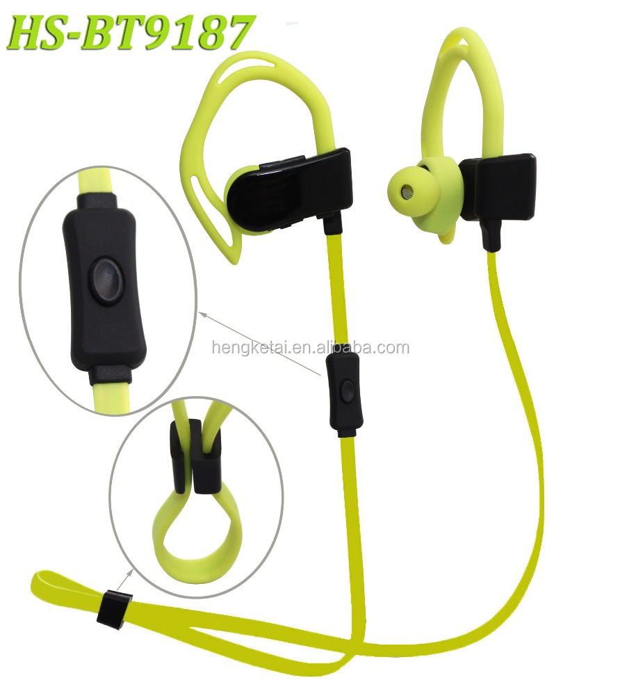 Bluetooth Earphones with monitoring heart rate date , pedometer and global positioning function