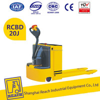 Industry used low cost electric lift pallet platform truck