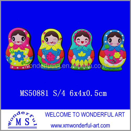 Unique Russia Matryoshka Doll Fridge Magnet Wholesale