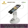 Aluminium alloy cell phone alarm holder with charger security