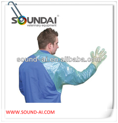 Veterinary shoulder length glove