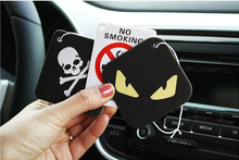 China custom paper car air freshener, hanging car air freshener