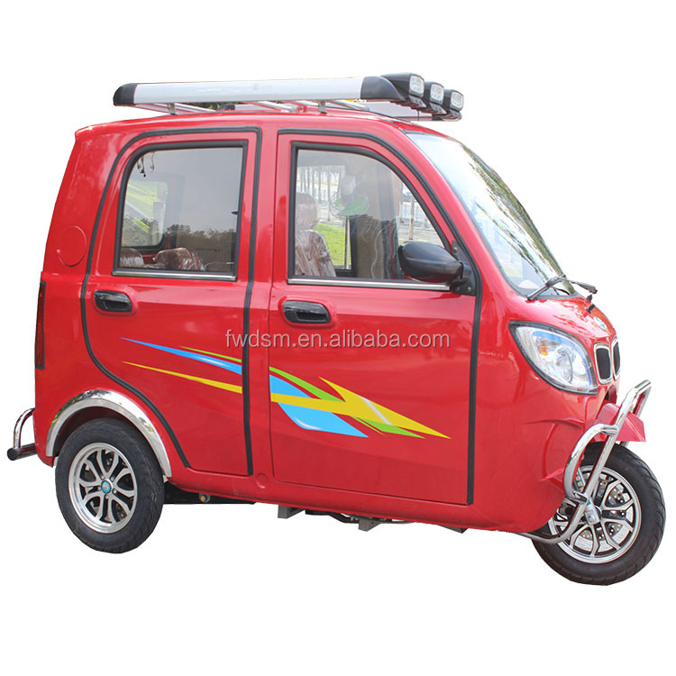 Fully enclosed chinese three wheel motorcycle