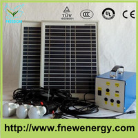 Monocrystalline Silicon Portable Solar Power System Generator, Commercial Home Portable Solar Led Light Lighting System