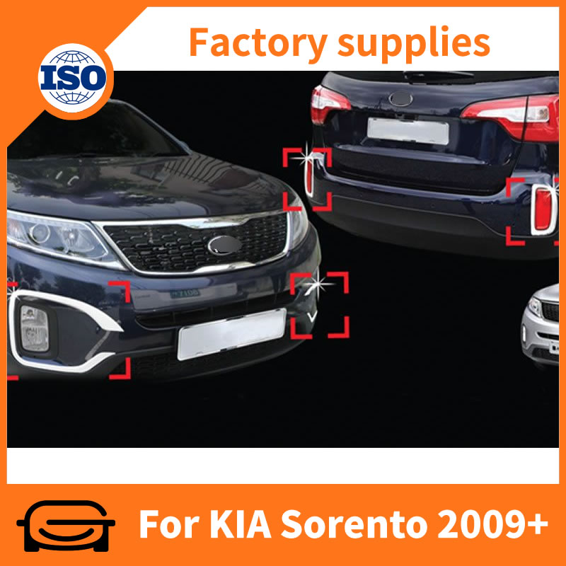 Front and rear fog lamp cover for Sorento 2009+
