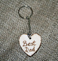Cheap laser engraving metal keychain