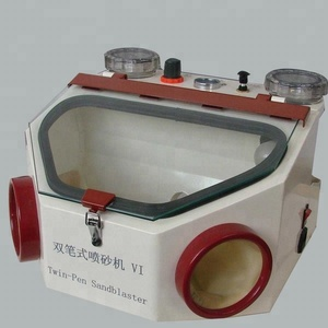 CE approved dental lab equipment sand blasting unit for sale