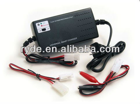 Smart Universal Charger for NiMH/NiCD Battery Packs: 6V - 12V