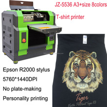 digital DTG t-shirt printing machine 300 pieces daily production no fading