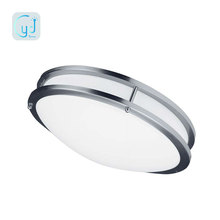 American and Canada market 120v led flushmount round LED ceiling light fixture dimmable 10in 12in 14in 16in 24in