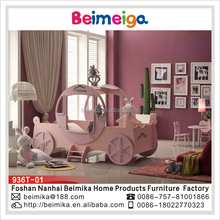 Children Kids Furniture Royal Princess Carriage Bed