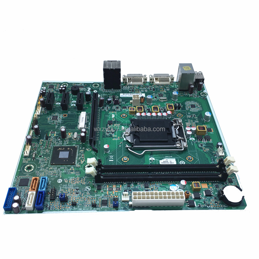 696233-001 For HP P6 P7 P6-2131JP P7-1423W Desktop Motherboard H-JOSHUA-H61-uATX Mainboard 100% tested