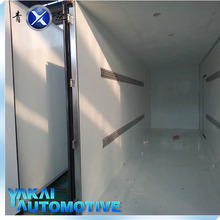3-4tons JMC refrigerated box truck for sale/ light fresh meat trucks