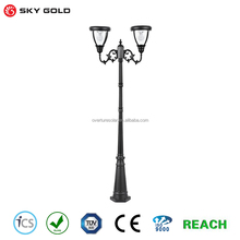 Wholesale china aluminum outdoor led garden floor lamp solar floor standing light
