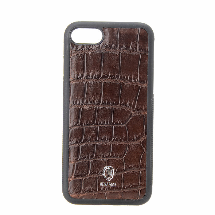 Bulk Luxury High Quality Genuine Crocodile Leather Cell Phone Case