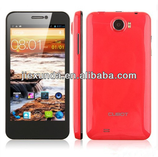 Wholesale - GT99 Cubot Android 3G GPS Cell Phone 4.5 Inch HD Screen MTK6589 Quad Core Smartphone 1GB RAM 4GB ROM 12.6MP Camera