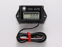 Supermoto Waterproof tachometer Hour Counter Motor RPM Meter for any 2/4 Stroke Gasoline Engine