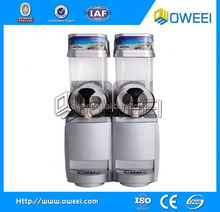 NEW DESIGN automatic snow slush maker /Two tanks snow melting machine