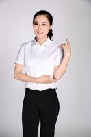 short sleeve office uniform for women clothing manufacturers in china