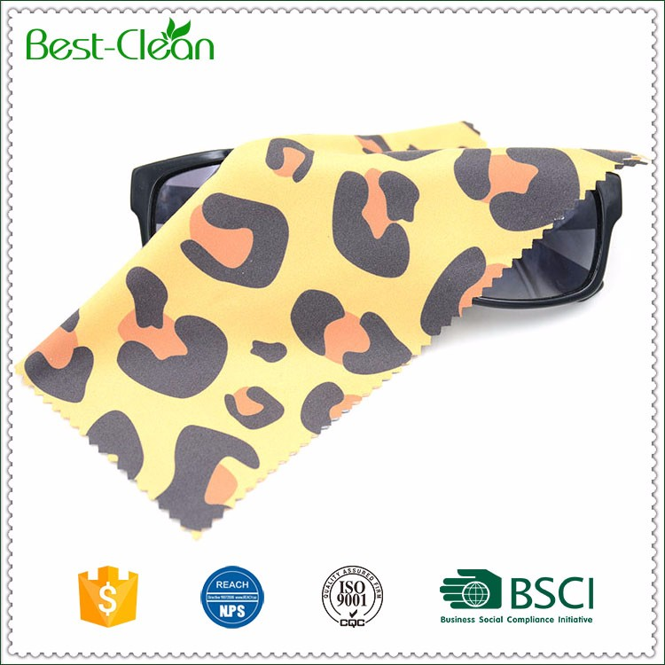 Optical Glasses Bulk Packing Yellow Microfiber Cloth