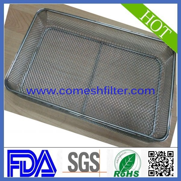 Iron medical wire mesh basket(Factory)