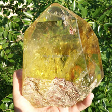 Quarzt Crystal Buyers Natural Citrine Crystal Show pieces Hand Made Crystal Point