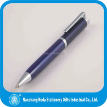 Metal gift pen Gift pen Ballpoint pen body can print logo with low moq