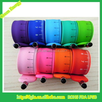 Promotion gift mobile phone & tablet touch screen silicone stylus pen with band from China