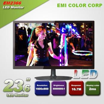 23.6 inch Full HD 1920 * 1080P Gaming LCD LED Monitor