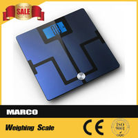electronic body fat balance scale with Smartphone Tracking