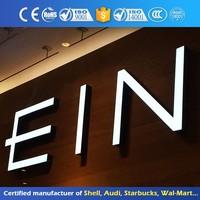 Illuminated Outdoor Light Up Large Decorative Custom Acrylic Alphabet Letter Sign With Led Light