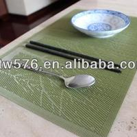 OEM Promotional Pvc Placemat Polyester Fabric