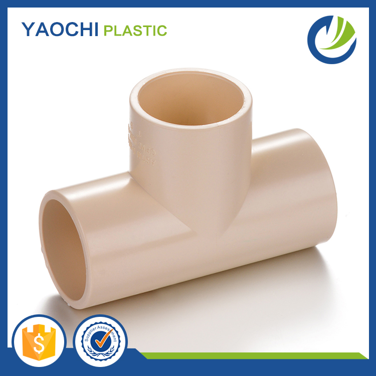 All sizes available pipe fittings plastic pvc tee