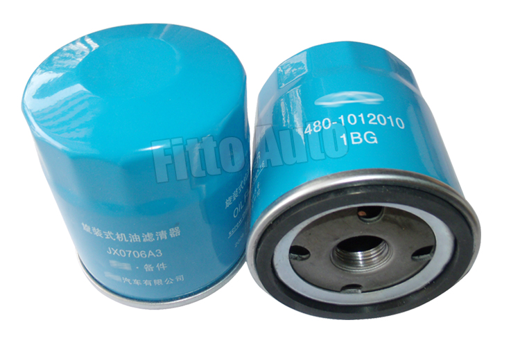 After Market Car Engine Lube Oil Filter 480-1012010 for Chery Fengyun, Qiyun 1 2 3/ A5/ Fulwin