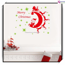 Christmas glass window stickers decorations home decals removable